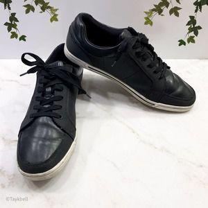 Aldo Men's Gwowen Fashion Black Leather Sneaker 10